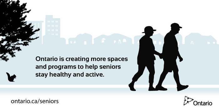 Ontario Supporting 40 New Seniors' Centres Across the Province