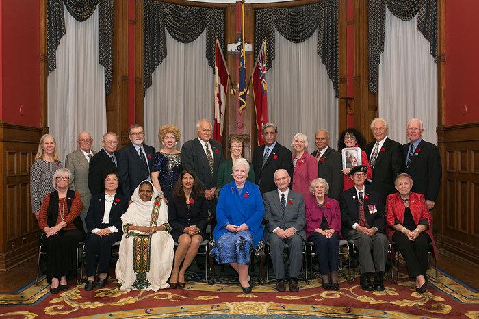 Hommage à 20 personnes âgées remarquables de l'Ontario
