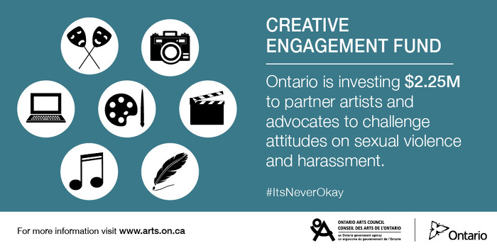Artists and Advocates to Join in Challenging Attitudes on Sexual Violence and Harassment