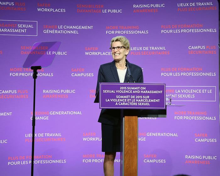 L'Ontario lance la prochaine phase de la campagne de lutte contre la violence et le harcèlement à caractère sexuel