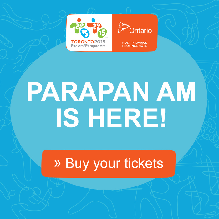 Ontario Athletes Set to Amaze at the TORONTO 2015 Parapan Am Games