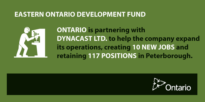 Ontario Supporting Economic Growth in Peterborough