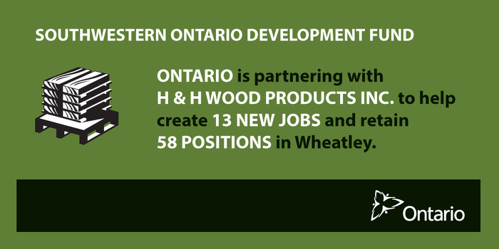 Ontario Supporting Economic Growth in Wheatley