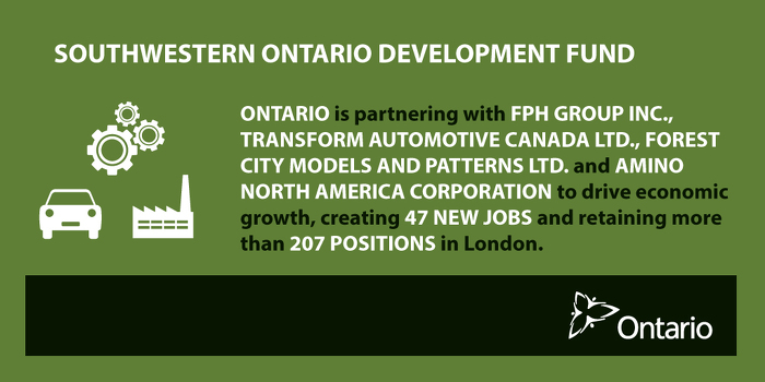 Ontario Supporting Jobs and Growth in London