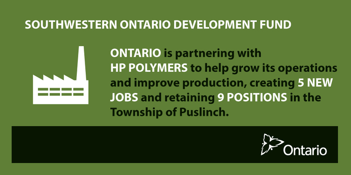 Ontario Supporting Manufacturing Jobs in Wellington County