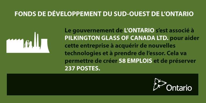 L'Ontario stimule la croissance économique à Collingwood