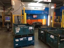 Nouvel appareil d'usinage au laser 3D Prima Power que Marwood Metal a acheté grâce à une subvention du Fonds de développement du Sud-Ouest de l'Ontario.