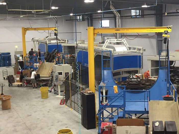 Nouvelle usine et nouveau matériel de Forest City