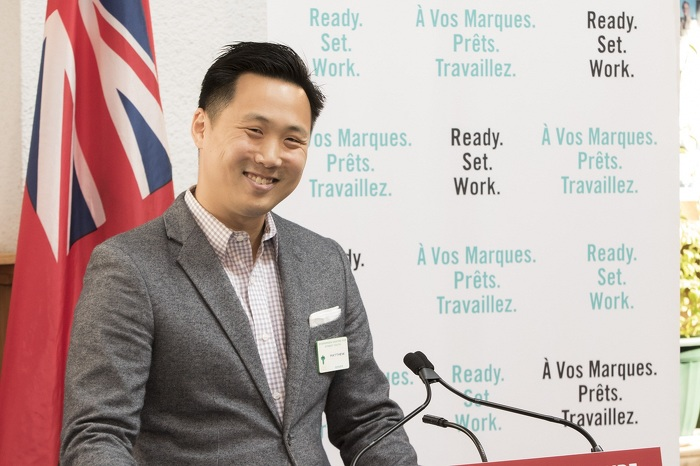 Matthew Wan, conseiller à Evergreen Employment Services